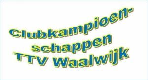 Clubkampioenschappen jeugd 2019