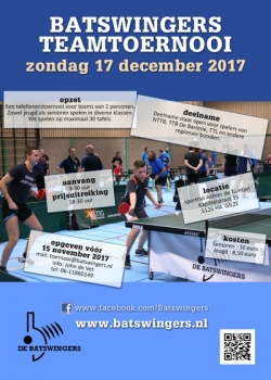 Batswingers Teamtoernooi 2017