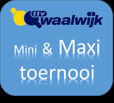 Open Mini & Maxi toernooi 2019