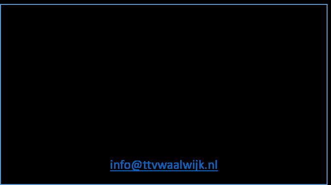 TTV Waalwijk zoekt nieuwe (shirt)sponsor